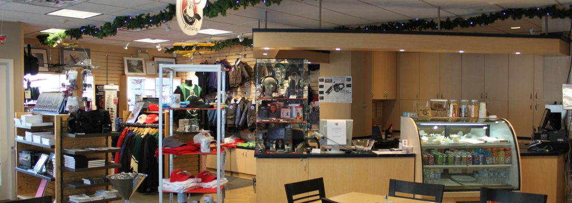 Come visit our friendly pilot shop located in the BFC Restaurant at the  Brampton-Caledon Airport. b593d30a8