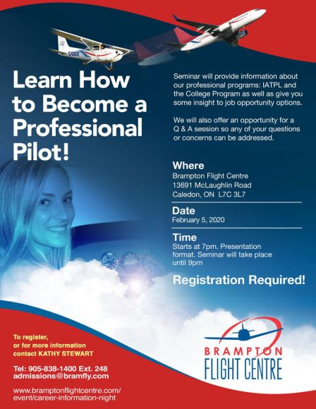 Learn How to Become a Professional Pilot